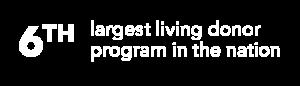 6th largest donor program | UCHealth