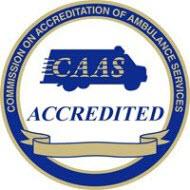 CAAS accreditation logo for UCHealth EMS