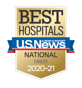 US News Best Hospitals 2020-21 Cancer badge