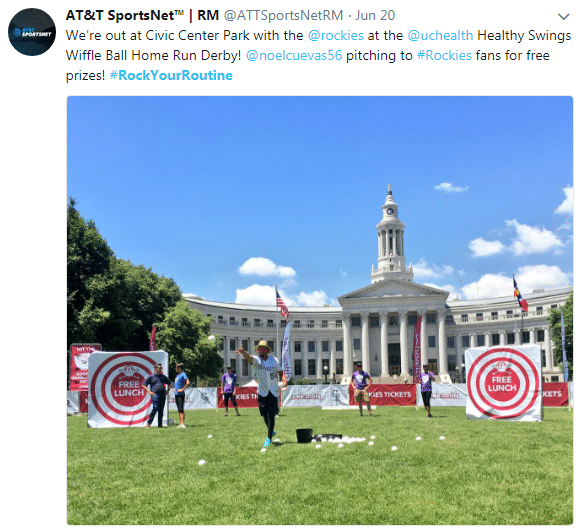 an image of a tweet from twitter.com with the hashtag rock your routine