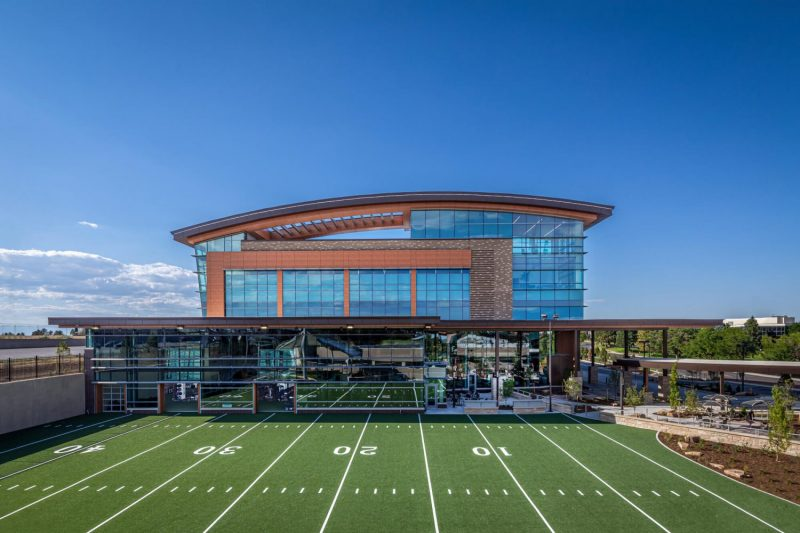 UCHealth Steadman Hawkins Denver Football Field for sports performance training