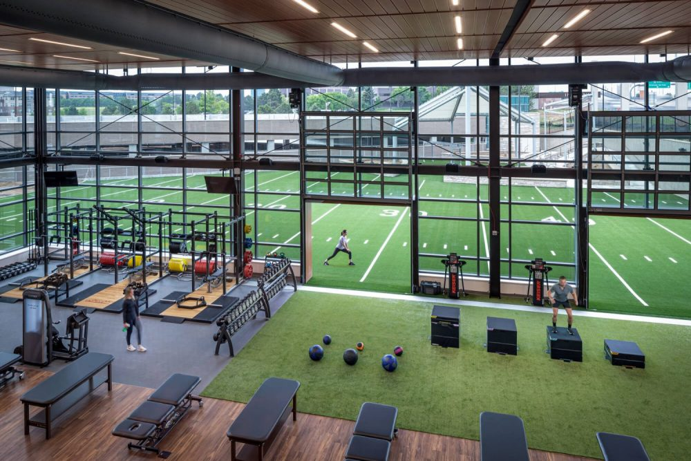 Sports performance and orthopedic training facility inside UCHealth Steadman Hawkins Clinic Denver