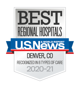 US News Best Regional Hospitals 2020-21 badge - University of Colorado Hospital | UCHealth