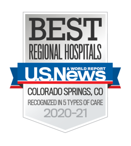 US News Best Regional Hospital Memorial 2020-21 badge