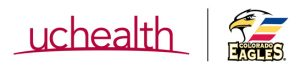 UCHealth and Eagles logo