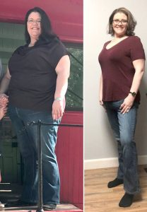 Amber Kois before and after photos