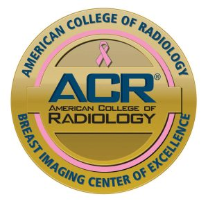 ACR Breast Imaging Center of Excellence badge