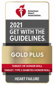 AHA 2021 Get With the Guidelines Heart Failure badge