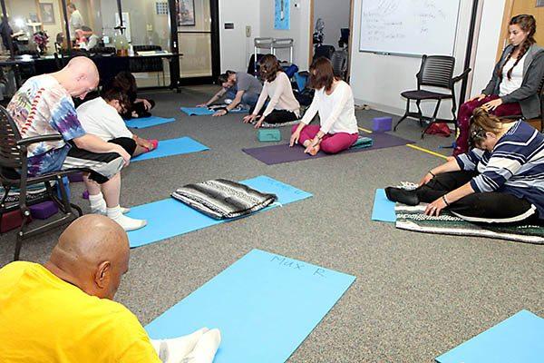 patient yoga