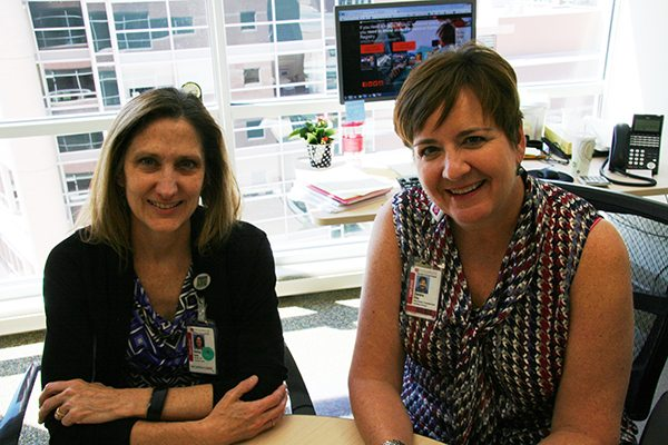 Living Kidney Donation Betsy Britz and Deidre Ellis