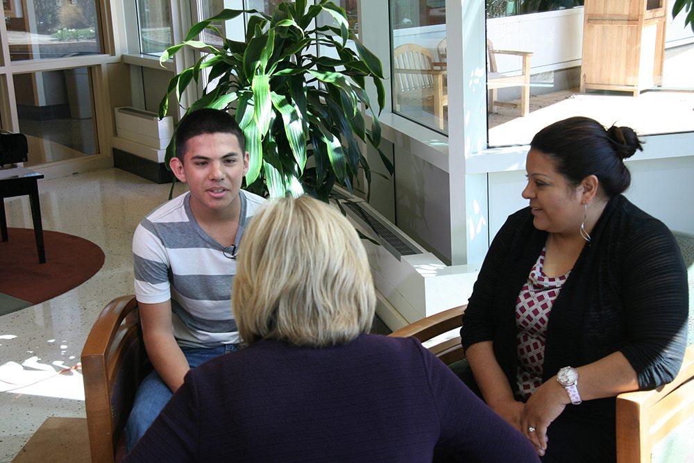 Iram Quezada and mom Maria Arellanes speak