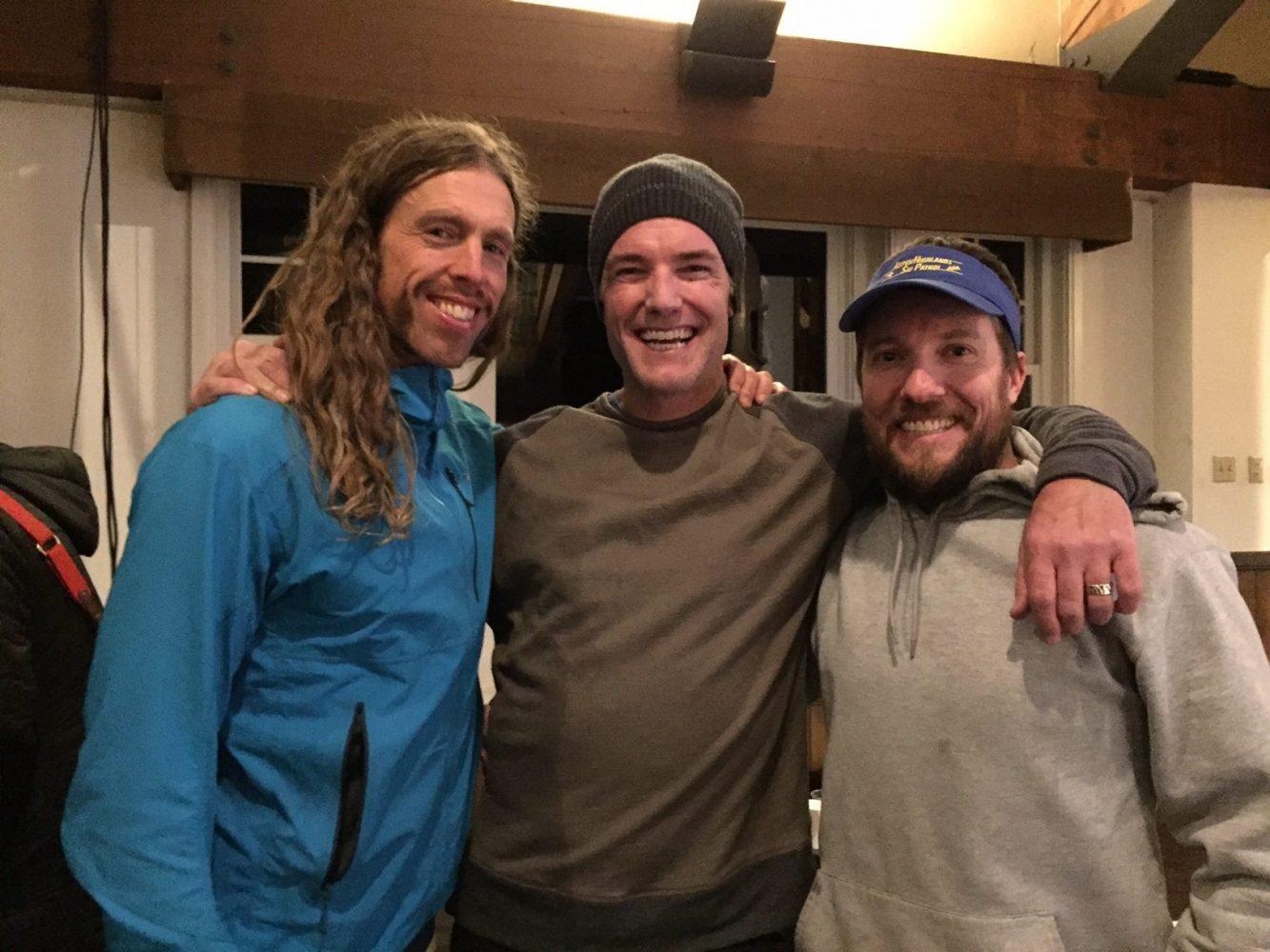 Elliott, Chris and Jordan