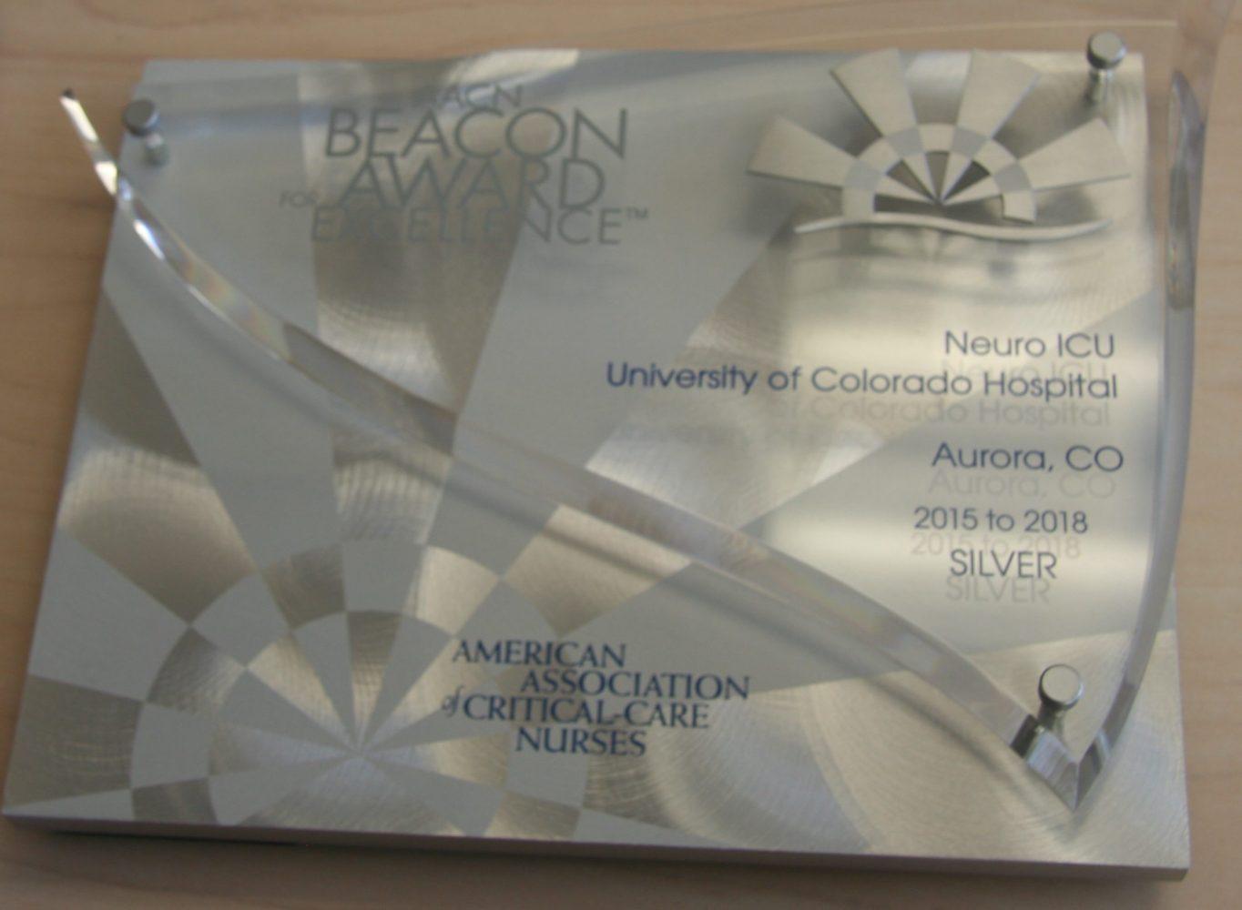 Beacon Award Plaque