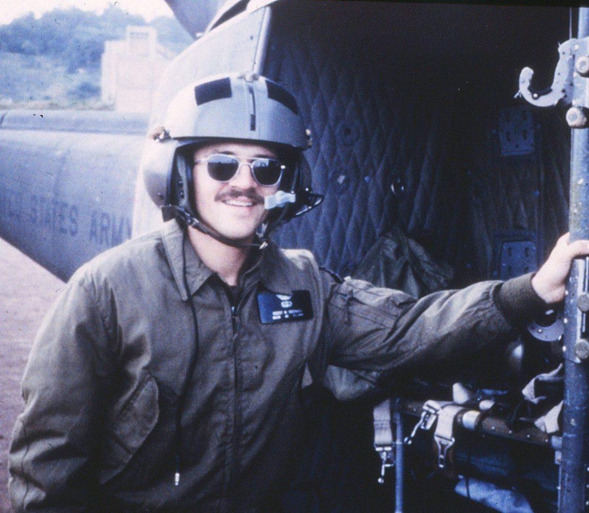 Major Enzenauer, chief flight surgeon