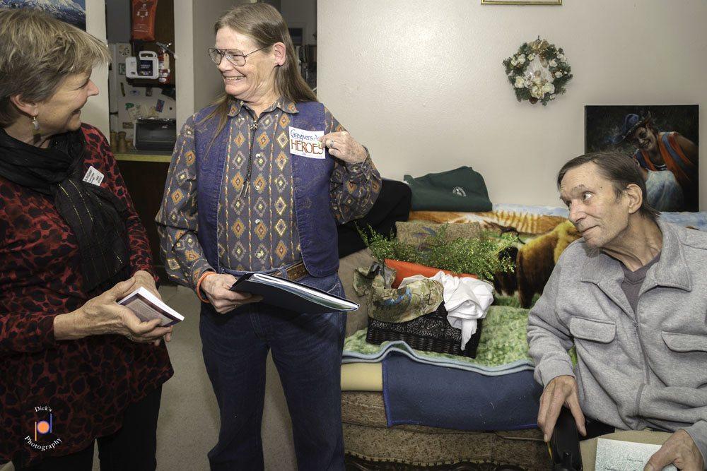 Lynn and Randy St. John with Lynette McGowan
