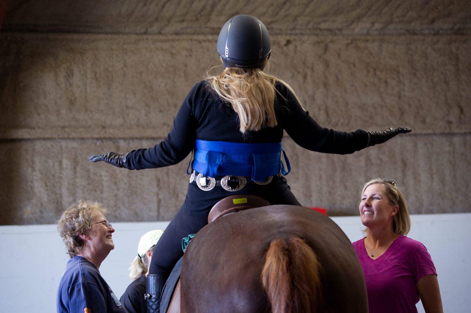 horseback balance