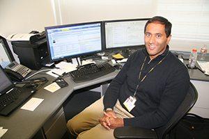 Amrut Ambardekar, MD, medical director of the Cardiac Transplant Program at UCH