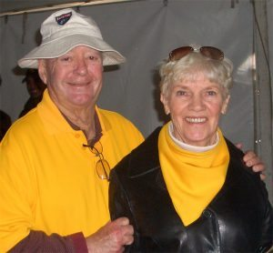 UW alums Vivian and Woody Haines don't like to miss a game but Woody's heart issues the past few years has made it harder to cheer on their team in person. Vivian hopes the couple's new artificial heart valves will make getting around less breathless.