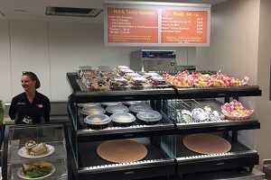 A new taco bar, not unlike those found at Chipotle or Qdoba, has opened in the Memorial Hospital Central café.