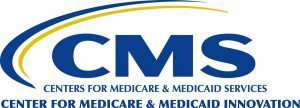 This is a logo for CMS, the Centers for Medicare & Medicaid Services.