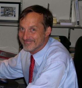 This is a photo of John Carroll, MD, director of Interventional Cardiology at UCHealth University of Colorado Hospital.