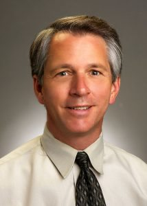 This is a photo of Dr. Charles Baumgart, UCHealth's chief medical officer for population health.