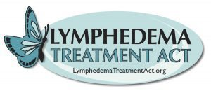 This is a logo for the lymphedema treatment act.
