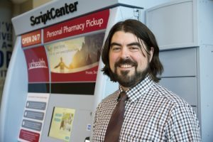 Erick Johnson, UCHealth pharmacy supervisor, is pictured.
