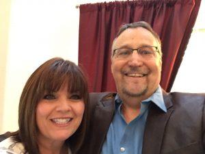Ken Littrell with wife, Teresa.