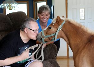 Roger Jorgensen and his wife, Susan, share their inspirational stroke story with UCHealth.