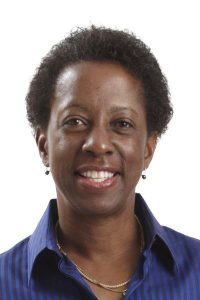 This is a photo of Regina Brown, MD, the director of oncology at UCHealth Lone Tree Medical Center and a University of Colorado School of Medicine medical oncologist.