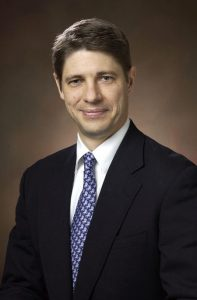 This is a picture of Dr. Todd Bull, medical director of the UCHealth Comprehensive Lung and Breathing Program.