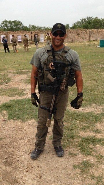 Jeff Bramstedt is shown during his service as a Navy SEAL.