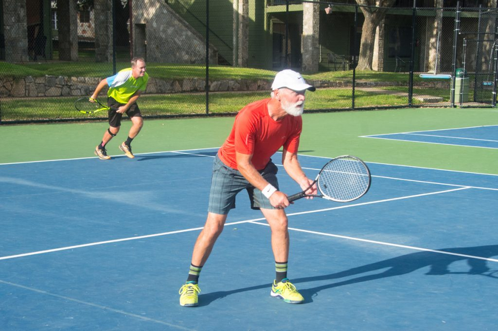 Sonny Hutchison plays tennis. He loves the sport and doctors helped him play again. They answered a key question: can rheumatoid arthritis be related to lung problems?