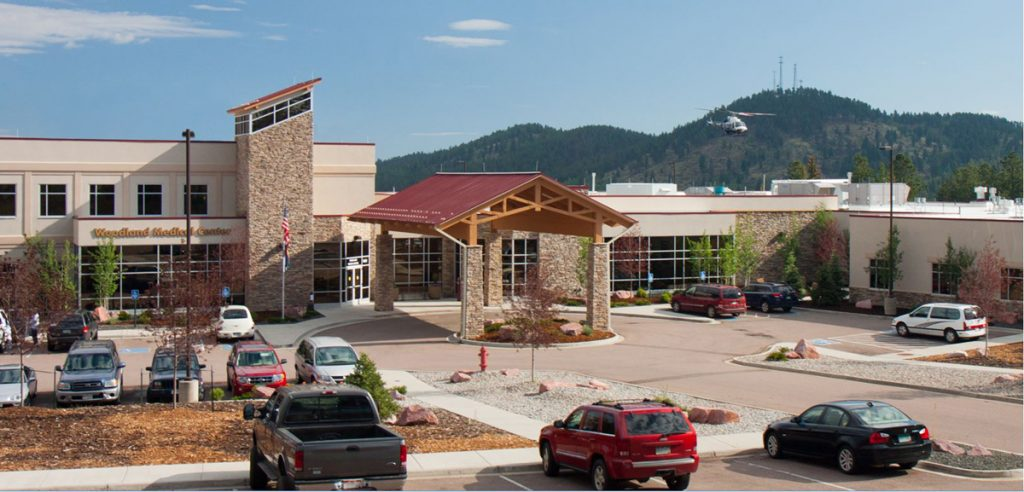 Pikes Peak Regional Hospital in Woodland Park, Colorado.