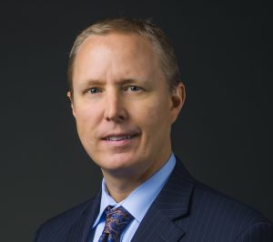 Head shot showing Dan Rieber, chief financial officer for UCHealth