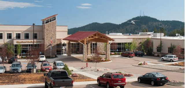 Photo shows Pikes Peak Regional Hospital
