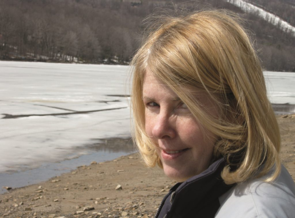 Kay Redfield Jamison in a head shot at a frozen lake. Jamison revolutionized psychiatry when she shared her own struggles with bipolar disorder.