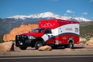 A photo of UCHealth's Mobile Stroke Treatment Unit