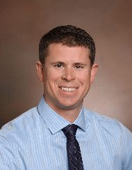 Dr. Jason Brainard, an anesthesiologist and co-medical director of the STICU