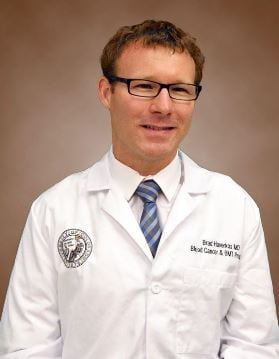 Headshot of Dr. Bradley Haverkos