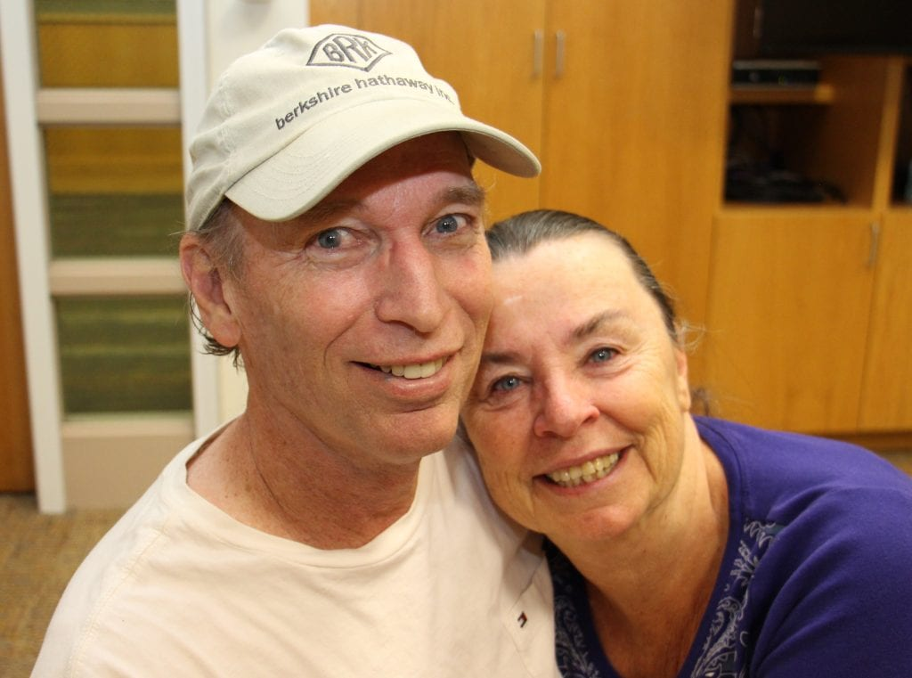 Ken and Sheree Kolar, shown in this picture , have been married for 40 years.