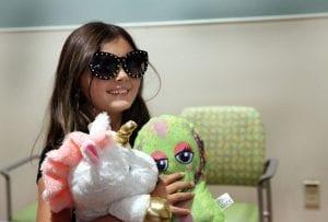 Marlie wearing sunglasses