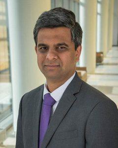 A photo of Dr. Dilip Raghuveer