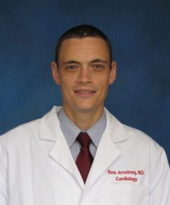 A photo of Dr. Ehrin Armstrong