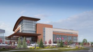 New UCHealth Steadman Hawkins Clinic denver - exterior view