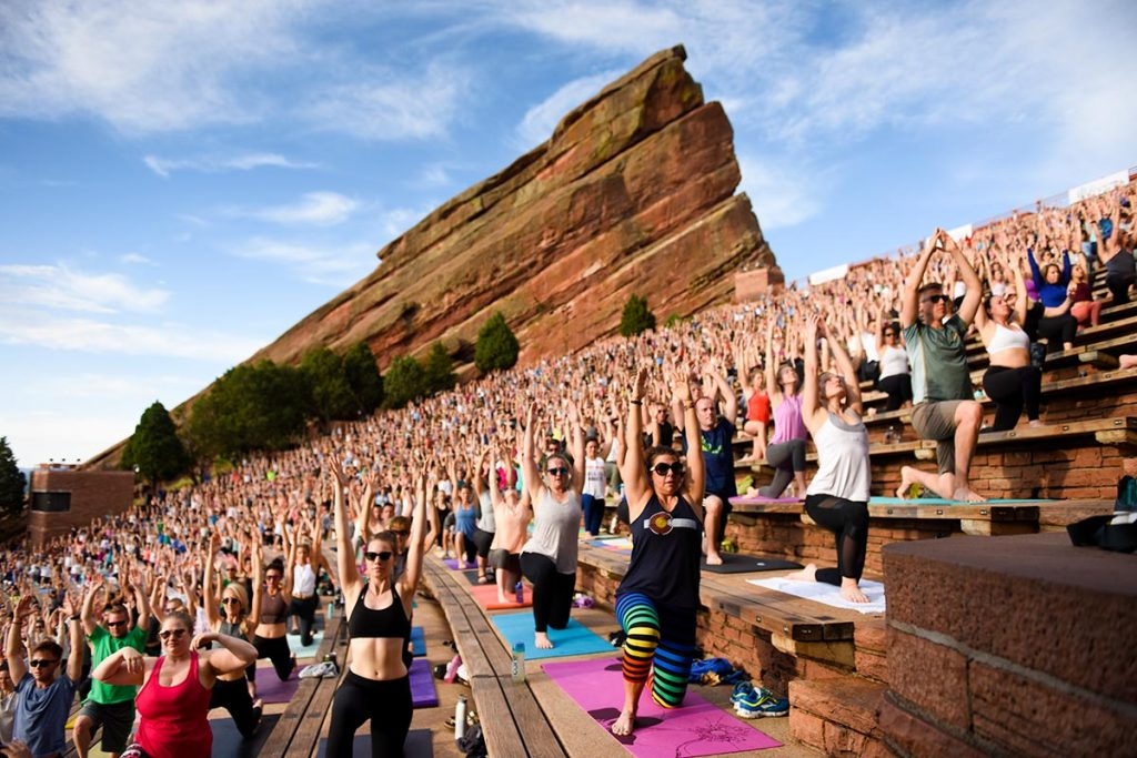 Outdoor Yoga Top Spots From Red Rocks To Your Park Or County Fair Uchealth Today