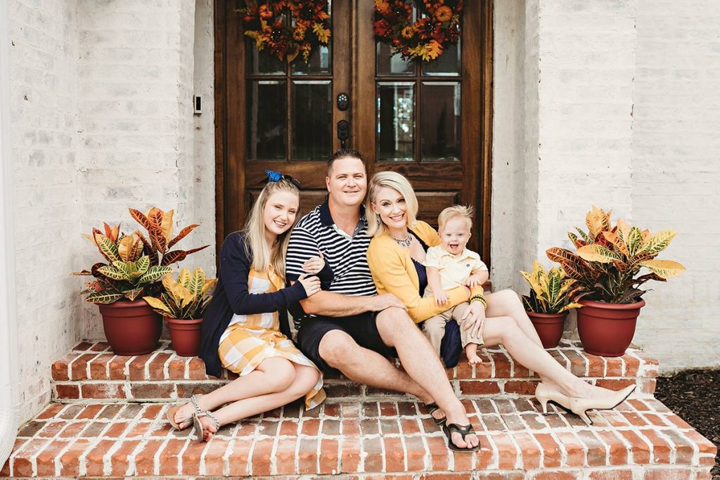 Despite heart problems, the Hartmans are doing well. C.J. and Mika Hartman flanked by daughter Henley, 11, and Hudson in August 2018. (Son Hayden, 21, was off at college).