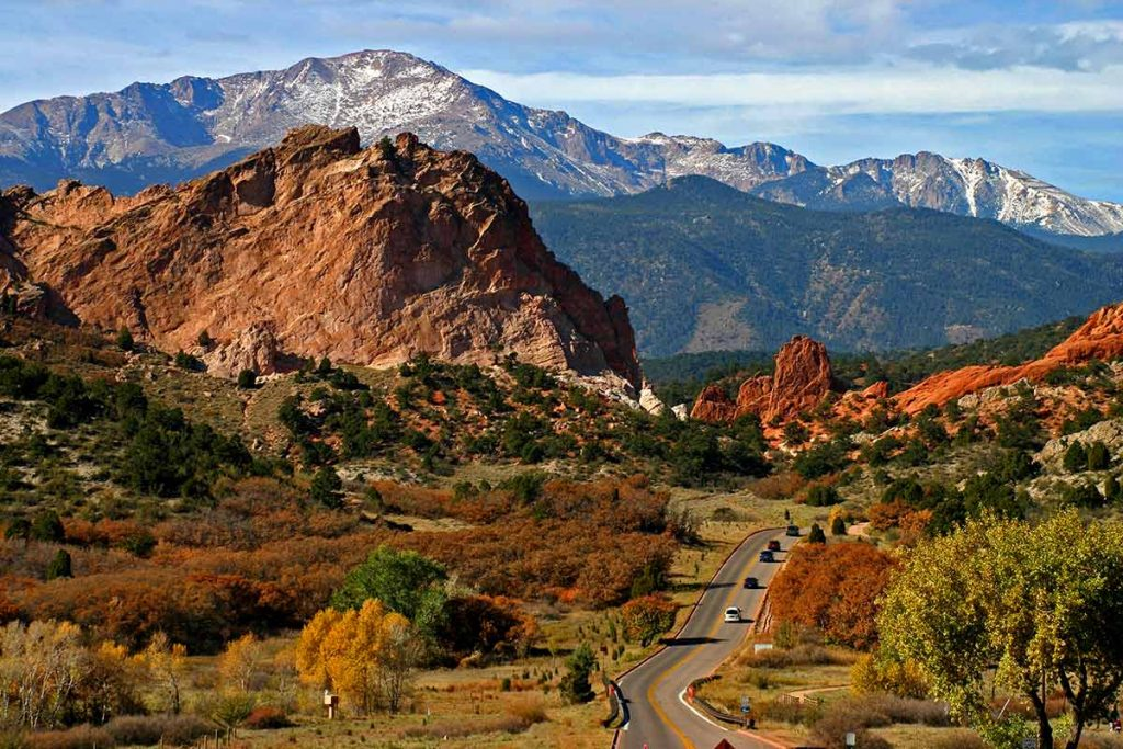A photo of Garden of the Gods