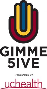 logo for Gimme 5ive, Vic Lombardi's cancer prevention campaign